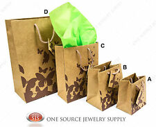 Gift Bags Kraft Butterfly Tote Party Supplies Paper Gift Bags Holiday Bags