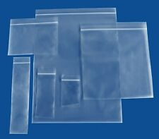 Assorted Reclosable Bags Heavy Duty 4 Mil Clear Plastic Bag 2x3 3x3 3x4 3x5