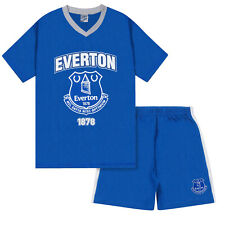 Everton FC Official Football Gift Boys Short Pyjamas