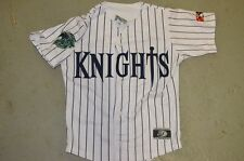 YOUTH Charlotte Knights PINSTRIPE Vintage Throwback Minor League Baseball Jersey
