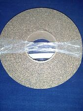 Cork Rubber Stripping Peel Stick Weather Proof  Insulation 25'ft.