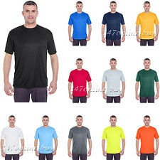 UltraClub Mens Cool & Dry Basic Performance T-Shirt. 8620