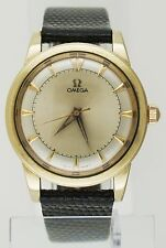 Vintage Omega Automatic 14K Gold Filled Watch Cal 500 Non-Bumper Sector Dial