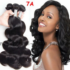 Real 7A Virgin Remy Human Hair Extensions Wefts Brazilian Weave 100g/bundle C184