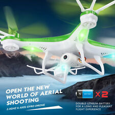 4CH 2.4GHz 6-Axis Gyro RC Quadcopter Drone With 0.3MP HD Video Camera Helicopter