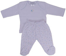 Kissy Kissy baby footed pant set with moon and stars - New Born Gift Set