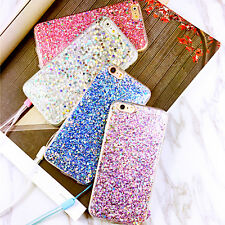 Fashion Bling Glitter Soft Candy Color Back Case Cover for iPhone6/6s/7/plus