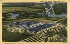 1944 Baltimore MD Largest Unit Aircraft Plant in the U.S.A.,Glenn L. Martin Co.