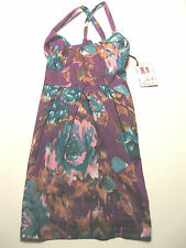"Jack BB Dakota ""The Kitty"" Cute Sexy Dress Size Medium M Purple Multi Party Club"