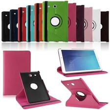 360 Rotating Smart Leather Case Cover For Samsung Galaxy Tab E 9.6 Inch SM-T560