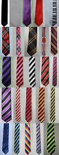 PACK OF 10 / 20 NECK TIES, CLUBS, PARTY, FANCY DRESS, FUNERAL, WORK, WEDDING