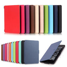 Magnetic Leather Smart Cover for Amazon Kindle Paperwhite 8th Generation 2016