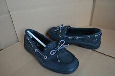 Sperry Top-Sider Girl's Youth Angelfish Black Boat Shoes YG51854A