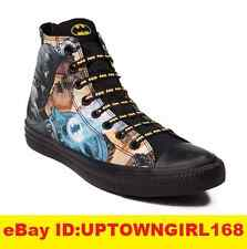 Converse Chuck Taylor ALL STAR HI Shoes Batman DC Comics Arkham Knight Black New