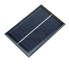 0.5V/6V 0.6W/1W 100mA Epoxy Cell Photovoltaic Battery Charger Solar Panel Module