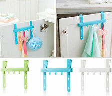 Five Hooks Door Rack Home New Towel Hanger Kitchen Storage Holders Hanging Rack