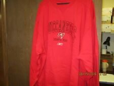 "NFL-TAMPA BAY BUCCANEERS-MEN'S RED FLEECE/SWEATSHIRT-""BUCCANEERS"", FLAG LOGO,"