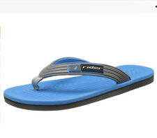 RIDER Mens Pier Grey/Blue Street Summer THONG Brazil FLIP FLOP SANDALS shoes