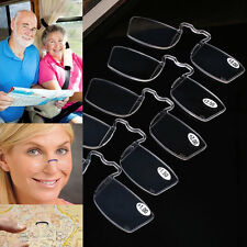 Portable Clip Presbyopic SOS Wallet Clearer Glasses Old Reading Glasses Eyewear