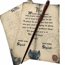 Wooden Hand Crafted Magic Wand Solid Mahogany Harry Potter
