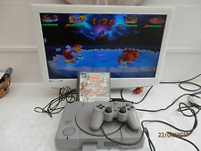 Sony Playstation 1 Grey Console SCPH-1002 With Crash Bash