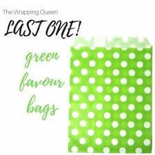 Party favour bags 25 50 polka dots gift bags paper loot bags wedding favour bags