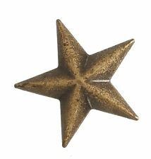"5540-SN 3/4"" Antique Brass / Bronze Star Decorative Metal Snap Buttons"
