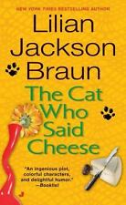 Cat Who...: The Cat Who Said Cheese 18 by Lilian Jackson Braun (1997, Paperback,