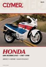 Honda 600 Hurricane, 1987-1990 by Clymer Publications Staff and Inc. Editors Hay