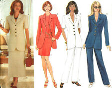 Jacket Skirt Pants 6 8 10 18 20 22 EZ Butterick Sewing Pattern Uncut 4885