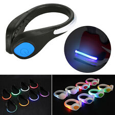 1 Pair LED Shoes Clip Light Reflective Night Running Cycling Safety Warning GYTH