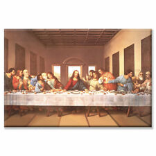 'The Last Supper' by Michelangelo Painting Print on Wrapped Canvas
