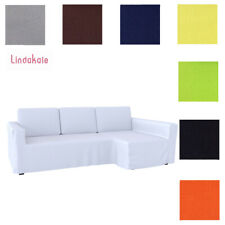 Custom Made Cover Fits IKEA Manstad Sofa Bed with Chaise, Hidabed Cover