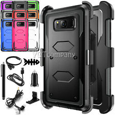 Case For Samsung Galaxy S8 / S8 Plus + Full Body Rugged Holster Shockproof Clip