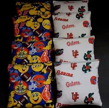 NEW EMOJI University of Florida Gators 8 Cornhole Bean Bags ACA Regulation