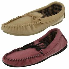 Ladies Bella Moccasin Slippers Label ~ K