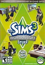 The Sims 3: High-End Loft Stuff PC/Mac Game,w/Activation Key,Complete VG