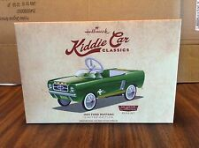 HALLMARK 2015 KIDDIE CAR CLASSICS 1965 FORD MUSTANG LIMITED EDITION REPAINT NEW