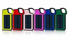 Portable Mobile Clip-on Solar Power Panel bank Charger Battery