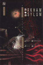 ARKHAM ASYLUM hardcover by Morrison and McKean