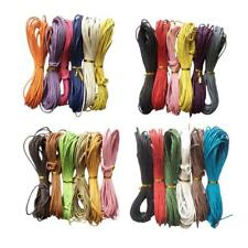6pcs 6 Colors 10 Meters 2mm Cotton Waxed Cord String Thread for Jewelry Making