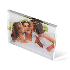 Personalised Acrylic Photo Block From Only £10.95