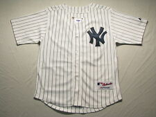 Youth's New York Yankees #13 Alex Rodriguez Sewn-on Jersey White/Navy