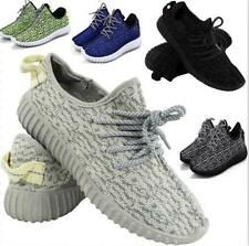 WOMENS FITNESS GYM SPORTS BOYS COMFY LACE UP SHOES SIZE MENS RUNNING TRAINERS
