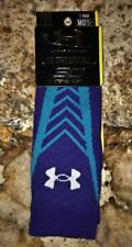 UNDER ARMOUR UA Undeniable Curry Deep Royal BLUE Basketball Crew Socks NEW Men M