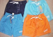 BOYS SWIM SHORTS/BOARD SHORTS IN VARIOUS COLOURS AGE 5-6 YEARS BRAND NEW