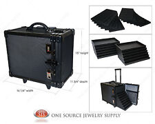 Carrying Case Travel Case Aluminum Jewelry Salesman & Jewelry Trays & Liners