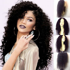 100% Virgin Human Hair Frontal Lace Front Wig Full Lace Wig With Baby Hair ###a