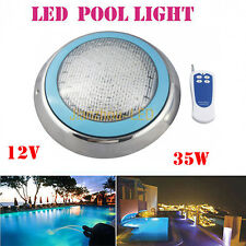 35W RGB Blue DIP LED Swimming Pool Light IP68 Underwater Spa with 501leds 12V