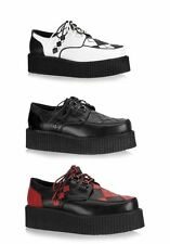 Demonia V-CREEPER-510 Men'S 2 Inch Platform Argyle Vegetarian Creeper Shoe